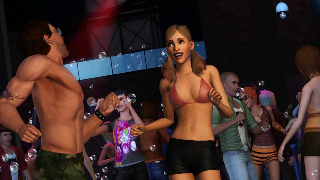 Los Sims 3: Al caer la noche TheSims3_LateNight_PartyTime
