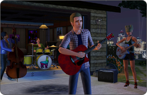 The Sims 3 Late Night - Camel Band